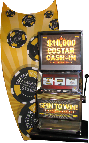 Custom Promotional Slot Machine 1