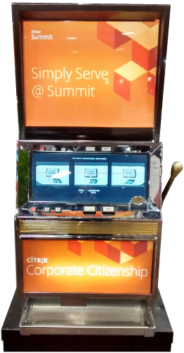 Custom Promotional Slot Machine 2