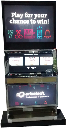 Custom Promotional Slot Machine 4